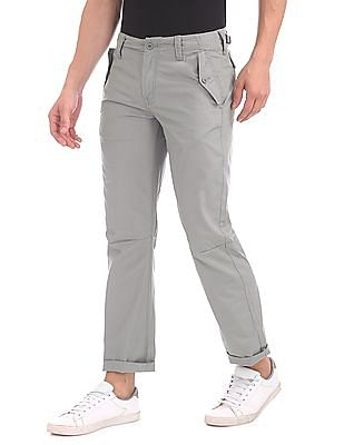 Nautica Modern Slim Fit Solid Trousers