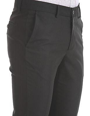 Excalibur Super Slim Fit Mid Rise Trousers
