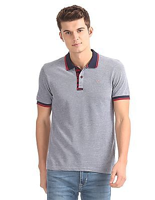 Flying Machine Slim Fit Pique Polo Shirt