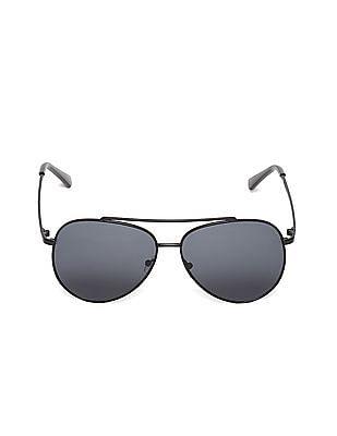 Colt Metallic Frame Round Sunglasses