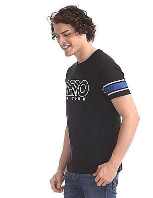 store choose original best choice Buy Men AE1004911007 Black Mens T-Shirt online at NNNOW.com