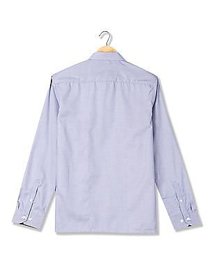 Excalibur Long Sleeve Patterned Shirt