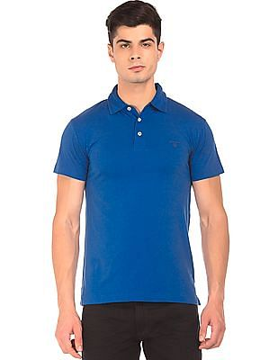 Gant Regular Fit Solid Polo Shirt