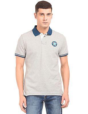 Aeropostale Regular Fit Contrast Collar Polo Shirt