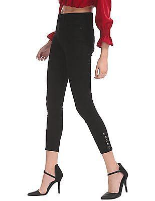 Elle Skinny Fit Rinsed Jeans