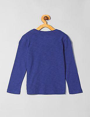 GAP Boys DC Logo Long Sleeve T-Shirt