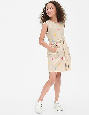 GAP Girls Star T-Shirt Dress