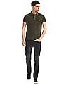U.S. Polo Assn. Denim Co. Black Regallo Skinny Fit Washed Jeans
