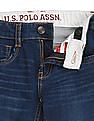 U.S. Polo Assn. Kids Boys Slim Fit Whiskered Jeans