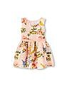 The Children's Place Toddler Girl Sleeveless Floral Print Lace Dress