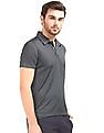 USPA Active Striped Equi-Dry Polo Shirt