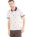 Gant Racket Embroidered Pique Polo Shirt