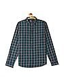 Roots by Ruggers Mitered Cuff Check Shirt