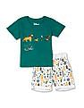 Colt Assorted Boys Lion King Graphic T-Shirt And Shorts Set
