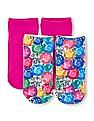 The Children's Place Baby Girl Jewel Printed Socks - Pack Of 2