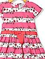 Cherokee Girls Stripe Fit And Flare Dress