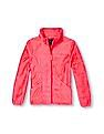 The Children's Place Girls Long Sleeve Solid Faux-Fur Favourite Full-Zip Jacket