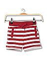 Cherokee Boys Striped Knit Shorts