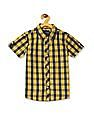 Cherokee Boys Layered Check Shirt
