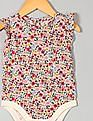 GAP Baby Multi Colour Floral Flutter Bodysuit