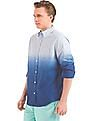 Aeropostale Dip Dyed Slim Fit Shirt