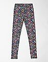 GAP Girls Print Leggings in Stretch Jersey