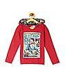 Colt Red Boys Avengers Graphic Hooded T-Shirt