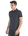 Arrow Sports Regular Fit Striped Polo Shirt