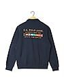 U.S. Polo Assn. Embroidered High Neck Sweatshirt