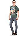 U.S. Polo Assn. Denim Co. Skinny Fit Lightly Distressed Jeans