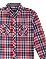Cherokee Boys Cotton Check Shirt