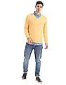 Aeropostale Regular Fit V-Neck Sweater