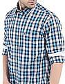 Izod Slim Fit Tattersall Shirt