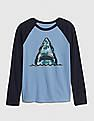 GAP Boys Graphic Raglan T-Shirt