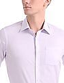 Arrow French Placket Vertical Stripe Shirt