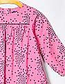 GAP Baby Pink Confetti Dot Dress