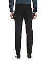 Excalibur Slim Fit Solid Trousers