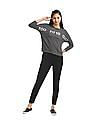 SUGR Grey Drop Shoulder Active Sweatshirt