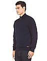 U.S. Polo Assn. High Neck Zip Up Sweater