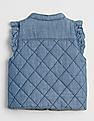 GAP Baby Chambray Jersey-Lined Vest
