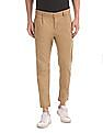 Flying Machine Slim Fit Solid Trousers