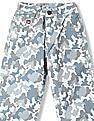 U.S. Polo Assn. Kids Boys Camo Printed Trousers