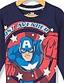 Colt Boys Captain America Printed Sweatshirt