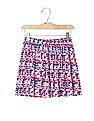 GAP Girls Print Flippy Skirt