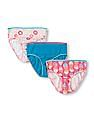 The Children's Place Girls Cotton Panties - Pack Of 3