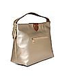 U.S. Polo Assn. Women Embellished Strap Metallic Hand Bag