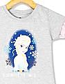 Colt Grey Girls Frozen Graphic Knit Top