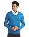 U.S. Polo Assn. Merino Wool V-Neck Sweater
