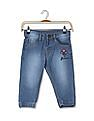 Donuts Girls Stone Wash Jogger Jeans