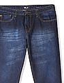 Newport Straight Fit Whiskered Jeans